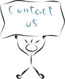 Contact us kid Stock Photos