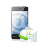 Contact us online. communication concept Royalty Free Stock Photo