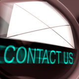Contact Us Postage Means Feedback And Discussing Stock Images