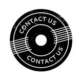 Contact Us rubber stamp Stock Photography