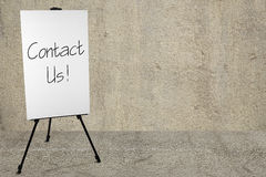 Contact Us! Royalty Free Stock Image