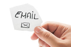 Contact us using email concept Royalty Free Stock Image