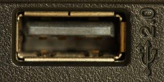 Contactdoos USB Royalty-vrije Stock Afbeeldingen