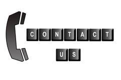 Contacteer ons Royalty-vrije Stock Foto