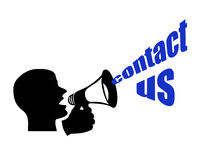 Contacteer ons Stock Foto's