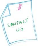 Contacteer ons Stock Afbeeldingen