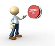 Contacteer ons Stock Afbeelding