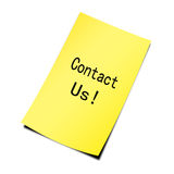 Contacteer ons! Royalty-vrije Stock Afbeeldingen