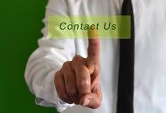 Contacteer ons Royalty-vrije Stock Afbeeldingen