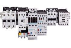 Contacteurs électriques Images stock