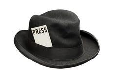 Contactez la presse Photographie stock