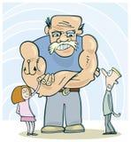 Contactez mon papa illustration de vecteur