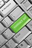 Contactez-nous ! Photo stock