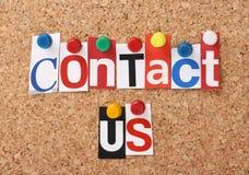 Contactez-nous Photos libres de droits
