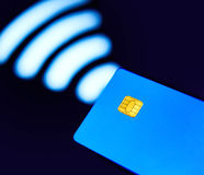 Contactless card Royalty Free Stock Photography