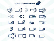 Contactless card Royalty Free Stock Image