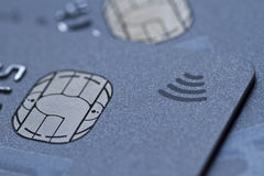 Contactless credit card Royalty Free Stock Photography