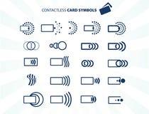 Contactless karta Obraz Royalty Free