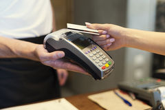 Contactless payment Royalty Free Stock Photography