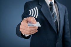 Contactless payment Stock Photos
