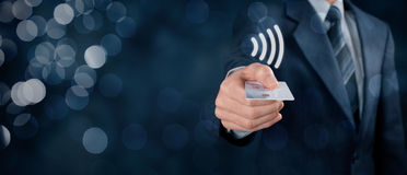 Contactless payment Royalty Free Stock Photos