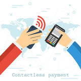 Contactless payment concept Royalty Free Stock Photo