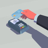 Contactless payment Royalty Free Stock Image