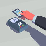 Contactless payment. Stock Images