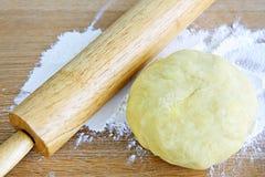 Contacto de balanceo y pasta de la galleta Imagen de archivo