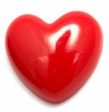 Contacto en forma de corazón imágenes de archivo libres de regalías
