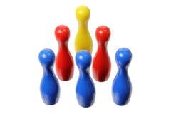 Contactos de bowling fotografía de archivo libre de regalías
