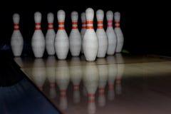 Contactos de Bowlings Fotos de archivo libres de regalías