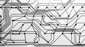 Contactos de la membrana del teclado de ordenador imagen de archivo libre de regalías