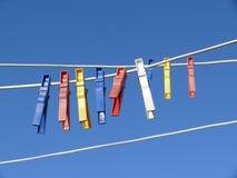 Contactos de ropa imagen de archivo libre de regalías