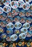Contactos y botones de Barack Obama foto de archivo libre de regalías