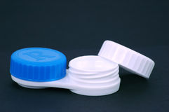 Contacts case Stock Image