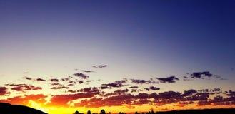 Contacts du soleil de matin photographie stock libre de droits