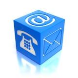 Contacts symbols Stock Photo