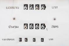 Contador Foto de archivo libre de regalías