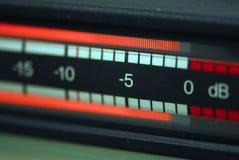 Contador audio RTW Fotos de archivo libres de regalías