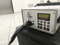 Contador da partícula ou fotômetro do aerossol foto de stock royalty free