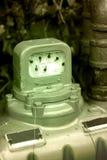 Contador de gas foto de archivo