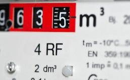 Contador de gas (Europa) Fotografía de archivo libre de regalías