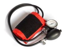 Contador de la presión arterial Foto de archivo libre de regalías