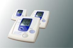 Contador de la presión arterial Fotografía de archivo libre de regalías