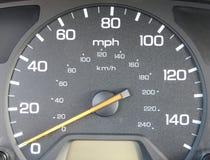 Contador de la velocidad O Fotos de archivo libres de regalías