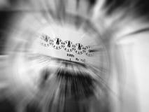 Contador de potencia Imágenes de archivo libres de regalías