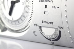 Contador de tiempo B del termóstato Fotografía de archivo libre de regalías