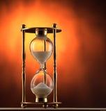 Contador de tiempo de la arena Imagen de archivo