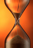 Contador de tiempo de la arena Imagenes de archivo